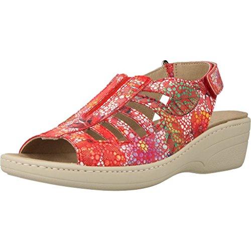 para de Marca Mujer Mujer Zapatos Color Cordones Rojo PINOSOS 60497 Modelo Zapatos PINOSOS Cordones Rojo Rojo para De 1fqUfw7d