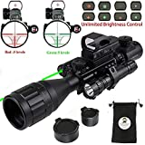 Best Ar 15 Scopes - XOPin Rifle Scope Combo C4-16x50EG Hunting Dual Illuminated Review