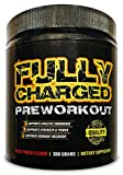 FULLY CHARGED: Pre-Workout Supplement Packed With Amino Acids For Post Workout Benefits- 30 Srv – Fruit Punch Flavor