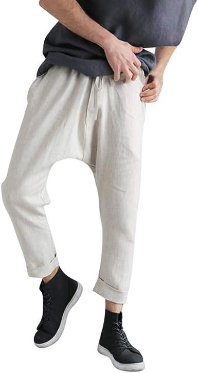 Sylar Casuales Pantalones para Hombre, Moda Pantalones Color ...