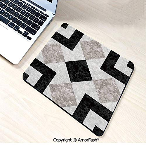 Customized Gaming Mouse Pad with Stitched Edges,Non-Slip Rubber,8.3