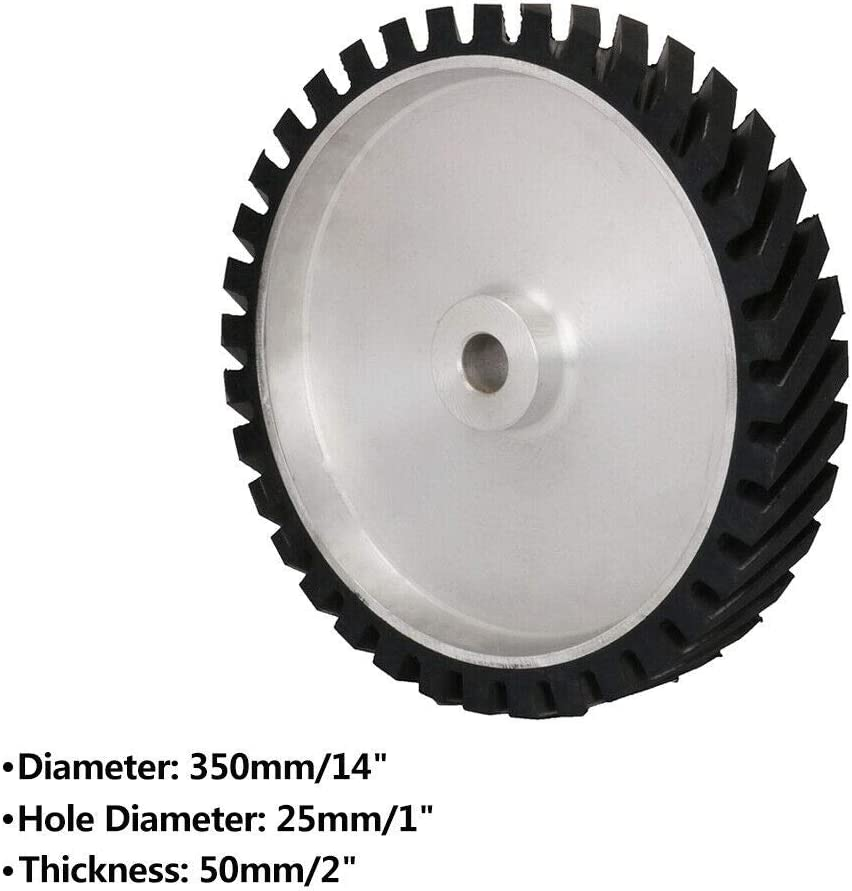 Diagonal Rubber Wheels Belt Grinding for Sander Polisher Abrasive Sanding Belt