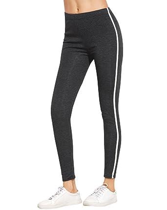 0a6ca29d5ca07 Minetom Women's Workout Capri Pants Printed Active Yoga Leggings,Watercolor  Pattern Grey X-Small