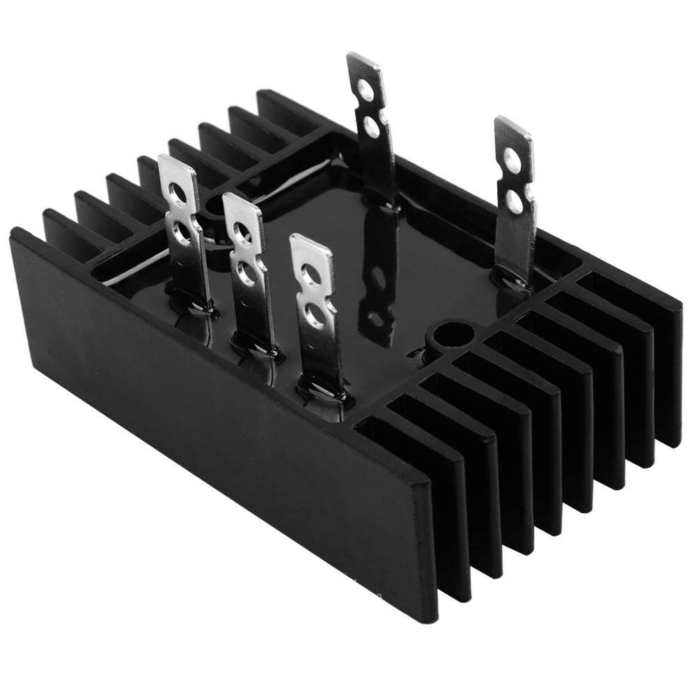 SQL100A 1600V Three Phase Rectifier AC to DC Full Bridge Rectifier with Heat Sink Walfront