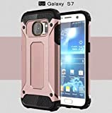 Galaxy 2016 A5 Case,OMORRO Super Shield Ultra Slim Tough Armour Premium Dual Layer Hybrid Shockproof Anti Scratch Armor Defender Hard Rugged Rugged Case for Samsung Galaxy A510 Rose Gold