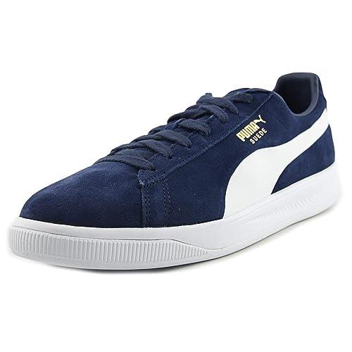 online store 5371d 6d4e0 Amazon.com | Puma Suede Ignite Men US 11 Blue Sneakers | Shoes