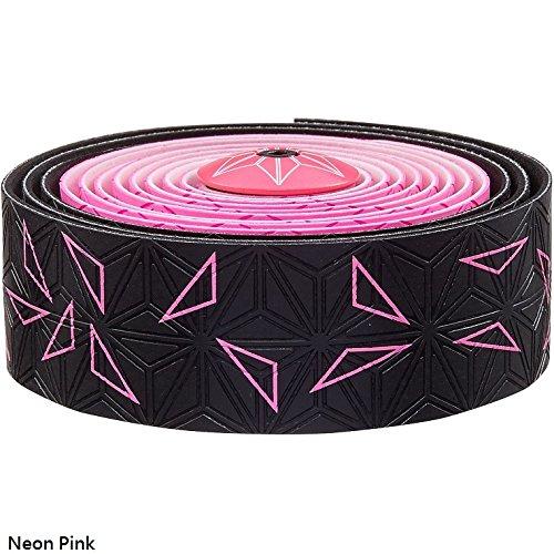 Supacaz Super Sticky Kush Star Fade Bar Tape (Neon Pink)