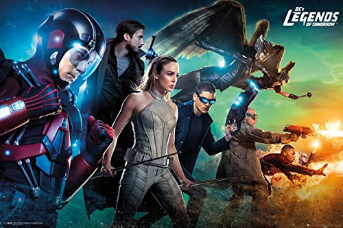 Dc's Legends Of Tomorrow - TV Show Poster / Print The Team By Stop Online