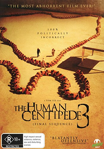 The Human Centipede 3 | Final Sequence | NON-USA Format | PAL | Region 4 Import - Australia