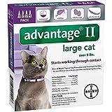 Bayer Advantage II Flea Control Treatment for Cats Over 9Lbs