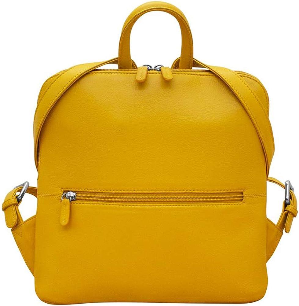 ili New York 6503 Leather Mini Backpack