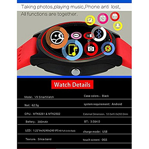 Gadgets Appliances 100% Brand New V8 Smart Wristwatch