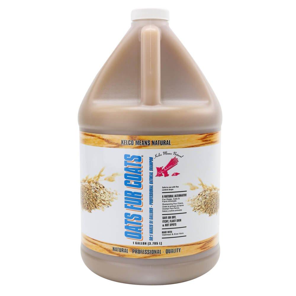 Kelco KE303812 Oats Fur Coats Shampoo, 50:1 Gallon
