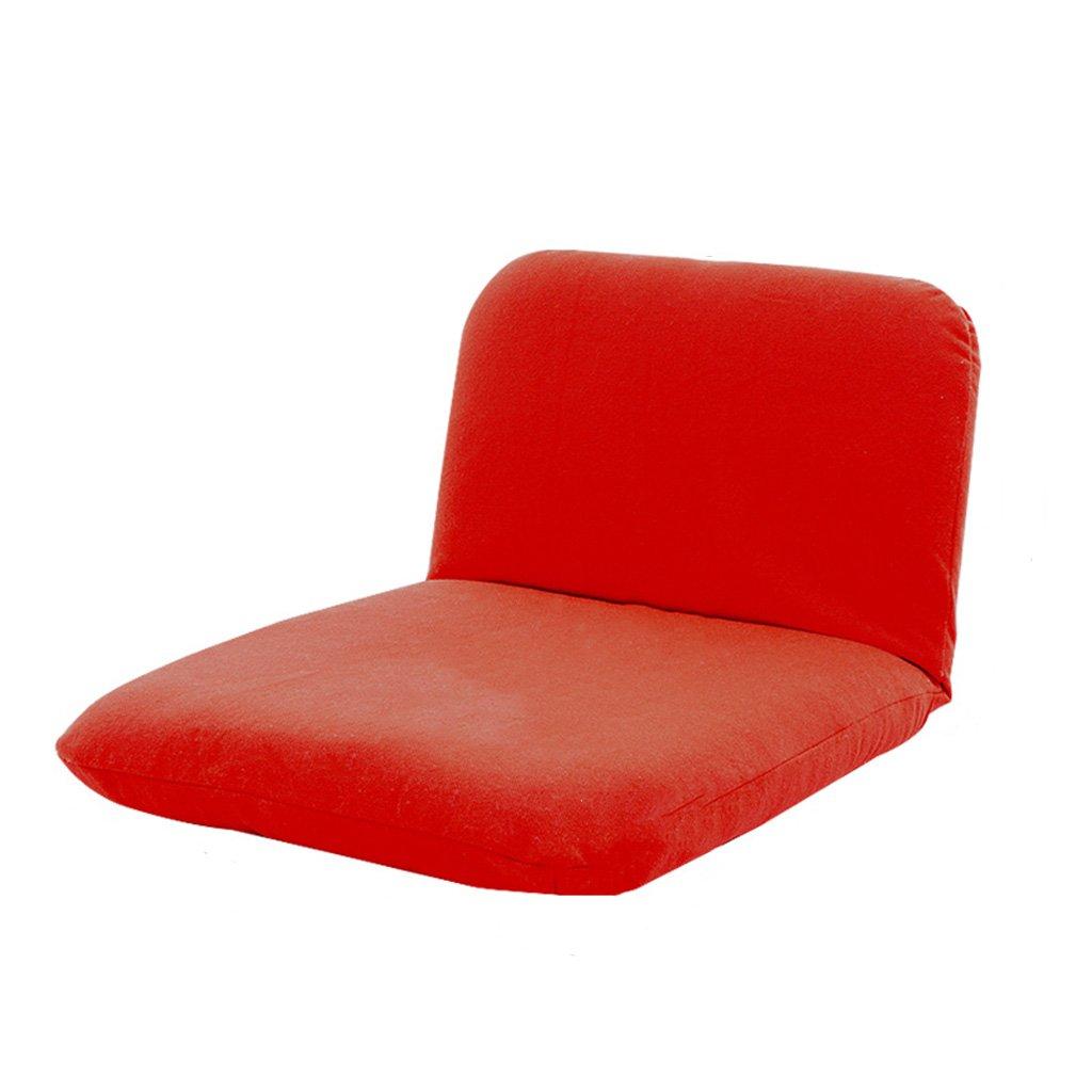 GRJH® Pouf - épaississement pliable lavable réglable individuelle canapé-lit dossier chaise Portable -Pliant ( Couleur