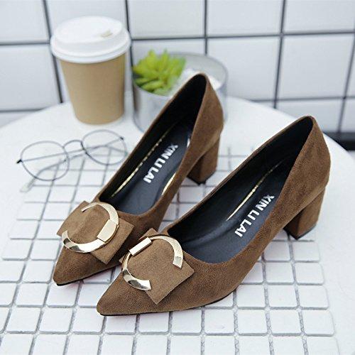 Hembra Tac con de Zapatos Qiqi Xue Corte x1fwpznq6S