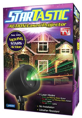 StarTastic Holiday Light Show ACTION Laser Light Projector As Seen On TV 1035