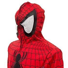 - 51qk82JgQVL - Marvel Spider-Man Cosplay Full Zip Hoodie