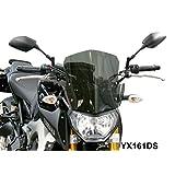 Fabbri Touring Windscren for Yamaha FZ09, Dark Smoke