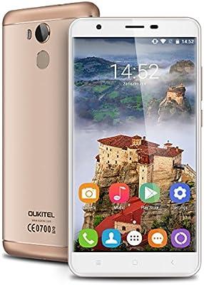 OUKITEL U15 Pro - 4G LTE Smartphone Libre Android 6.0 (Pantalla HD ...