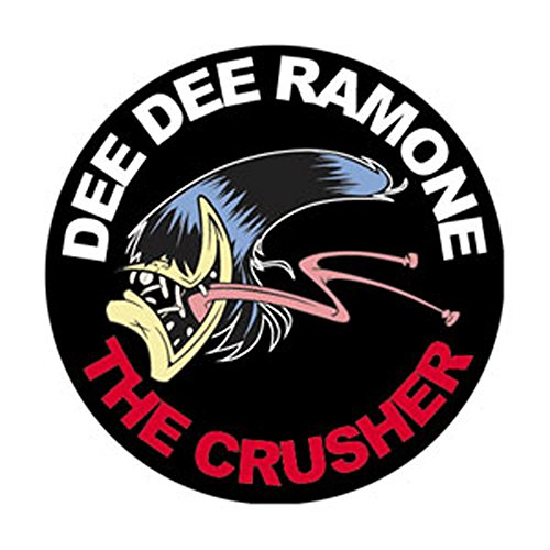 Ramones Pin Button - Dee Dee Ramone - Crusher - Pinback Button 1.25