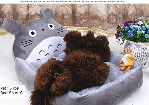 Colorfulhouse Lovable Totoro Design Pet Bed for Small to Large Dogs (S)