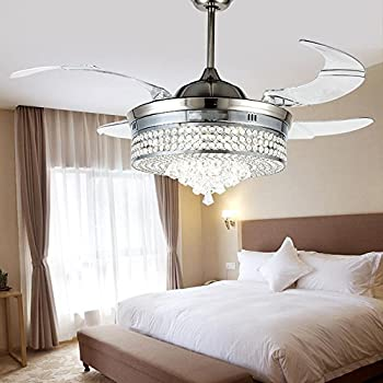 chandelier van crystals bedroom light in attractive pink designs at elegant vincent pop ceiling decorating gogh fans crystal fan kit with arles