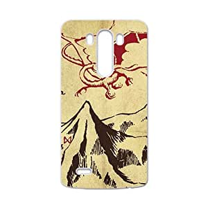 Unique mountain and red dinosaur Cell Phone Case for LG G3