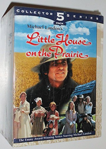 (Little House on the Prairie (5 pack): Creeper of Walnut Grove, The Craftsman, The Collection, Survival, A Harvest of Friends [VHS])