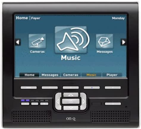 ON-Q Unity - System Interfaces 7 LCD Console with Lyriq - Gloss Black (HA5009-GB) [並行輸入品]