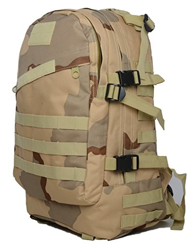 Bolsas de Camping resistente al agua MOLLE mochila militares 3P Tad Asalto Mochila Táctico Bolsa de viaje para los hombres, DCU DCU