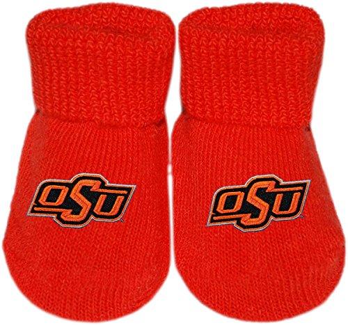 Oklahoma State University OSU Cowboys Newborn Baby Bootie Sock