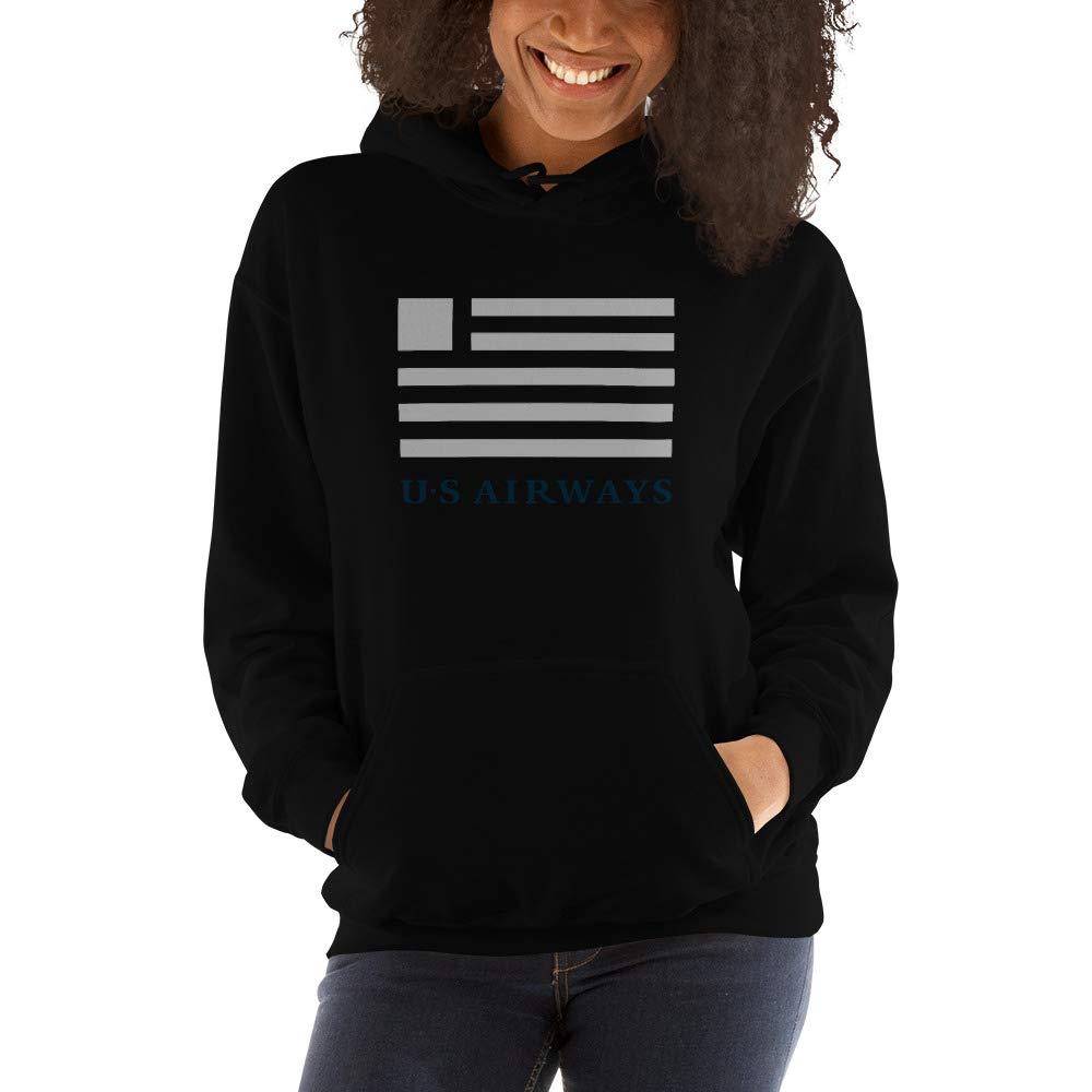 US Airways Unisex Heavy Blend Hooded Sweatshirt