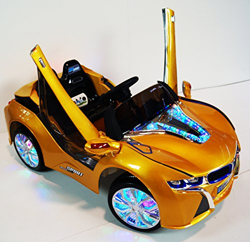 Bmw I8 12v Electric Ride On With Remote Control: LED Wheels Edition I8 Limited Vision BMW Style Battery