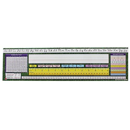 - North Star Teacher Resource NST9006BN Desk Plate Intermediate Contemporary Cursive - Pack of 3