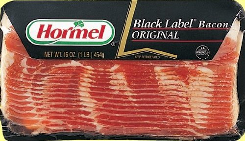 HORMEL BLACK LABEL BACON ORIGINAL 16 OZ PACK OF 2