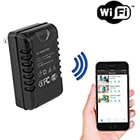 SpygearGadgets WiFi Internet Streaming USB AC Adapter Hidden Nanny Camera - Stream Live Video to iPhone or Android - Model HC410w