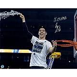 Steiner Sports NCAA Villanova Wildcats Ryan Arcidiacono Signed Cutting Down Net Championship Photo with 2016 Champs INSC, 16x20, Navy