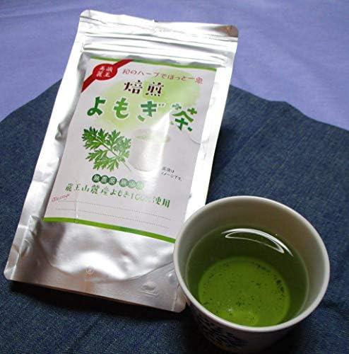 蔵王焙煎よもぎ茶 24g(2g*12袋)ティーバッグ ノンカフェイン / 国産 無農薬 無添加 無着色