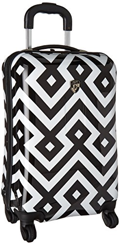 heys-america-unisex-deco-21-spinner-black-white-carry-on