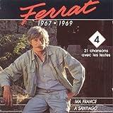 Ferrat: 1967-1969 (Vol.4)