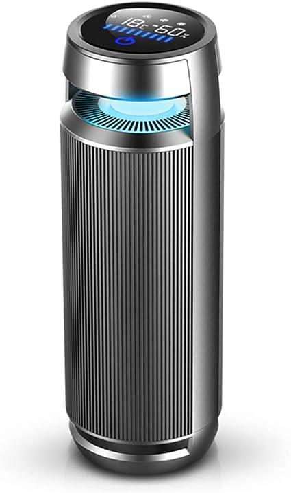 Purificador de aire ionizador de coche,temperatura humedad ...