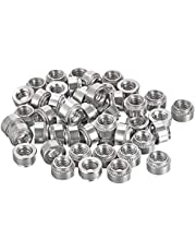 uxcell Self -Clinching Nuts, Steel Rivet Nut Fastener for Thin Sheet