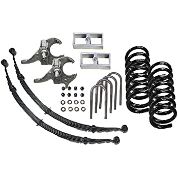 Amazon Com Mcgaughys 45 Deluxe Lowering Suspension Kit S 10
