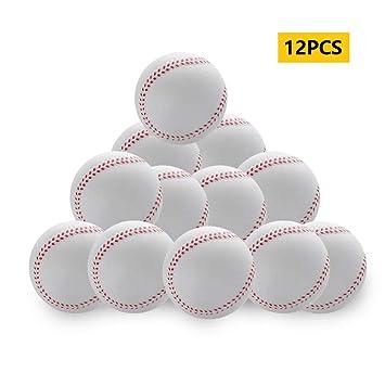 CviAn 12 Pelotas de béisbol de Espuma para niños, para ...