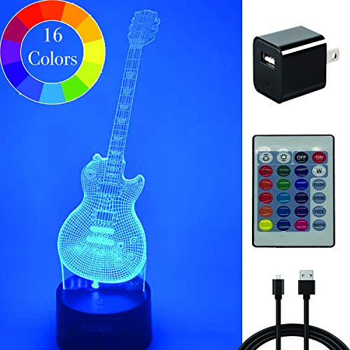 Electric Guitar Led Lights