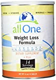 All One Weight Loss Formula 14 Serving Supply Powder, Vanilla, 6 Count