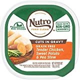 Nutro Wet Dog Food Cuts In Gravy Tender Chicken Stew, (24) 3.5 Oz. Trays