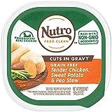 Nutro Wet Dog Food Cuts In Gravy Tender Chicken Stew, (24) 3.5 Oz. Trays
