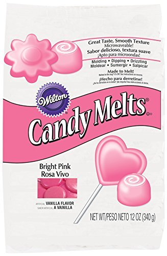 Amazon Wilton Candy Melts Bright Pink Kitchen Dining