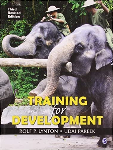 Training for Development by Rolf P Lynton (2011-10-04)